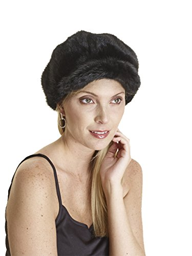 Mink Beret Hat