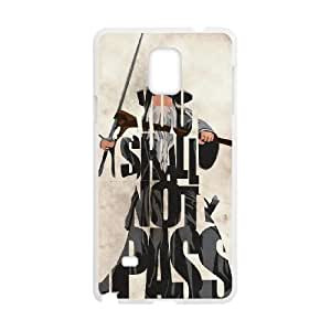 Gandalf The Lord of the Rings Samsung Galaxy Note 4 Cell Phone Case White yyfabd-281389