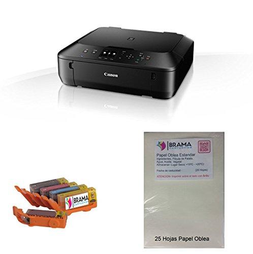 Un kit económico completo para empezar imprimiendo con tinta comestible sobre nuestro papel oblea, El Kit viene con un juego de cartuchos de tinta ...