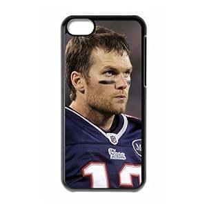Diy Tom Brady Iphone 5C Hard Shell Case Fashion Style UN014147