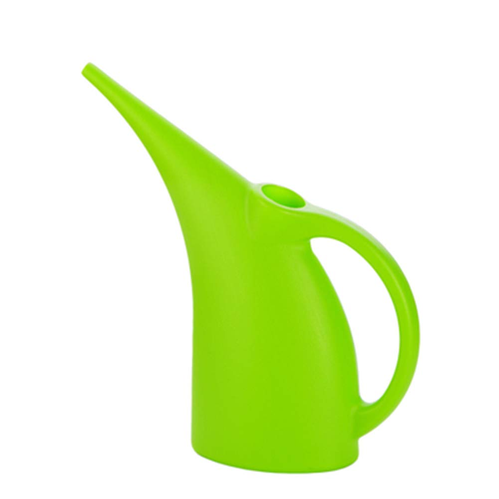 TELLW Creative Long Mouth Plastic Sprinkling Kettle Watering Kettle Household Green Potted Kettle Watering Flower Pot Watering Garden Kettle