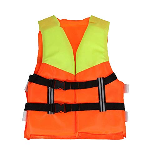 Herbests Swimming Life Jackets for Kids Youth,Foam Life Vests Jackets for Boating Swimming with a Whistle (Unisex)