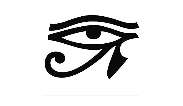 Mrhxly Pvc Negro Extraíble Antigua Leyenda Egipcia Horus Ojo ...