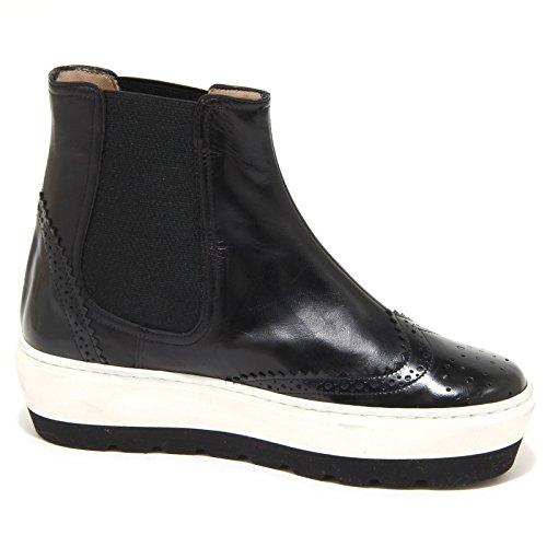 Platform Woman Donna Nero Beatles Clara Santa Shoes 8957n 1ZFUpqwSS
