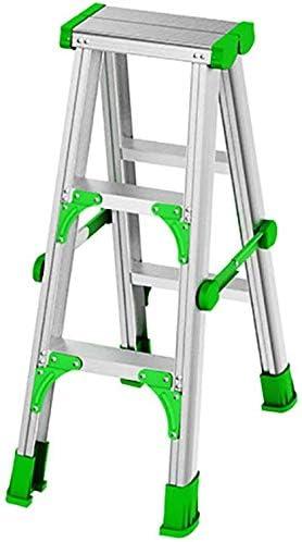 SED Escaleras de Mano Multiusos para el Hogar, Escalones de Interior Escalera de Servicio Plegable Plegable Aleación de Aluminio, Escalera Plegable para Adultos para el Hogar, Escalones Taburete con: Amazon.es: Bricolaje y