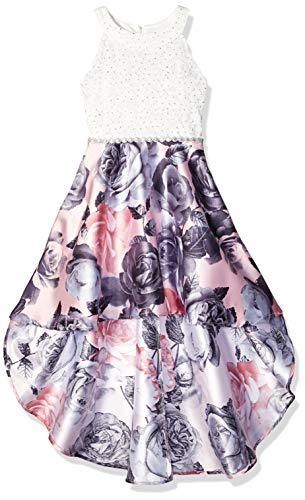 Speechless Girls' Big 7-16 High-Low Party Dress with