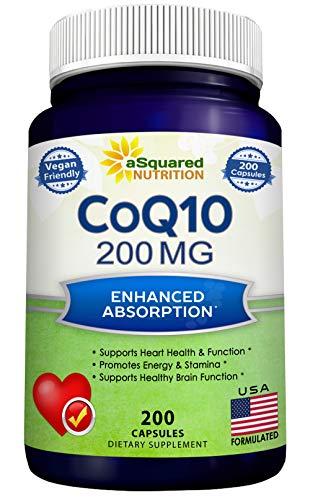 CoQ10 200 Capsules and