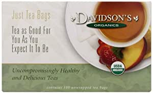 Davidson's Tea Children'S Christmas, 100-Count Tea Bags