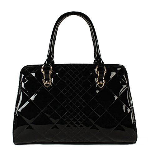 Black Patent Leather Purse: Amazon.com