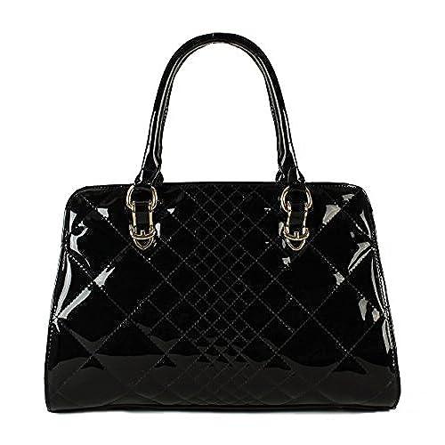 Patent Leather Handbag: Amazon.com
