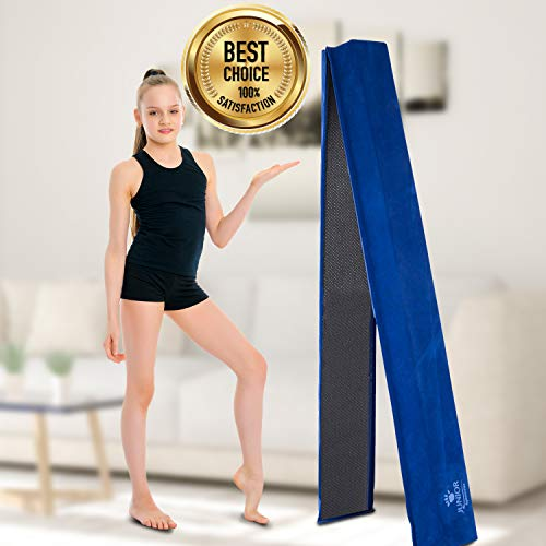 Amazon.com: Junior Gymnastics viga de 8 pies de largo con ...
