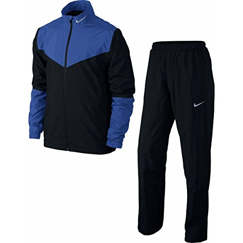 Nike Golf Storm-FIT Rainsuit (Black/Game Royal, - Rainsuit 30