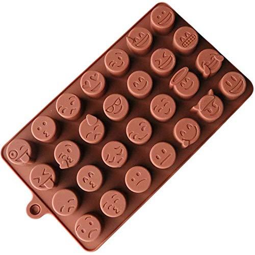 Yamart Fashion Cake Baking Mold Silicone Emoji Funny Face DIY Chocolate Sugar Candy Fondant Soap Jelly Mould Kitchen Tools
