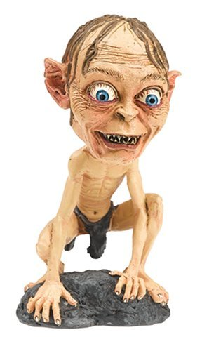 Wowheads Hollywood Caricature Bobbleheads   Ghollum Smeagol Lord Of The Rings  Skin
