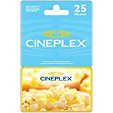 Cineplex Gift Card $25