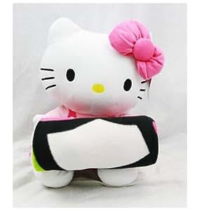 Sanrio-Hello Kitty Plush Doll With Fleece Blanket