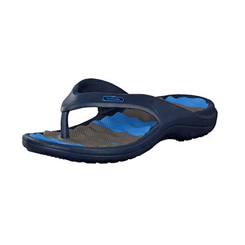 Brandsseller Bleu de Couleurs Bleu pour et de Bleu Noir Clair 45 clair Pointures plage Tongs homme Bleu Homme 41 Bleu Noir Sandales Orange piscine O8wEBRqC