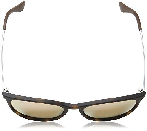 ... Ray-Ban Junior Izzy en trou de serrure ronde lunettes de soleil à la  Havane d3113a8fc5b9