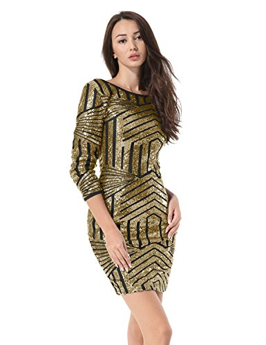 fully sequined dress - 3