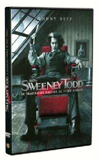 Sweeney Todd, le diabolique barbier de Fleet Street Francia DVD ...