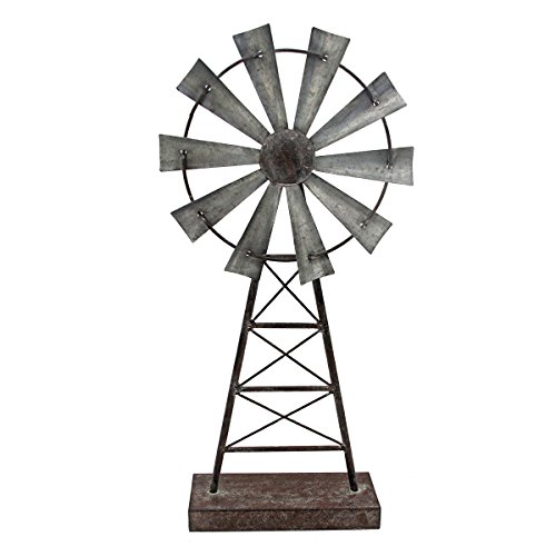 Foreside Home & Garden Large Windmill Table Decor, from Foreside Home and Garden
