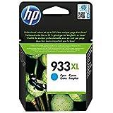 HP 933 XL Ciano CN054AE Cartuccia Originale per Stampanti HP a Getto di Inchiostro, Compatibile con Stampanti HP OfficeJet 6100, 7610 e 7612, HP OfficeJet 6600, 6700, 7110 e 7510