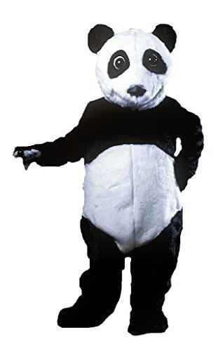 ALINCO Panda Bear Mascot Costume Black/White ()