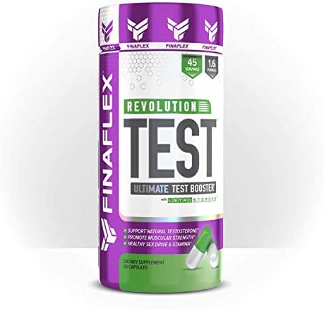REVOLUTION TEST Testosterone Booster