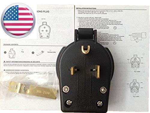 US SELLER,NEMA 6-50P,MILLER 213380,MIG,STICK welder Power Plug,Wire Feeder,PLASMA CUTTER(ETA: 2-8 work days) by CYMPOLLIA (Image #2)