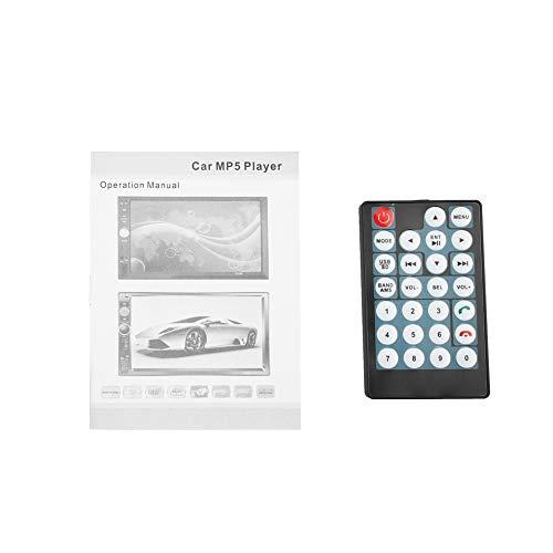 Akozon MP4 MP5 Player 7018B 7'' HD Car MP4 MP5 Player AUX Stereo BT Handsfree LCD FM Radio Remote Control by Akozon (Image #7)