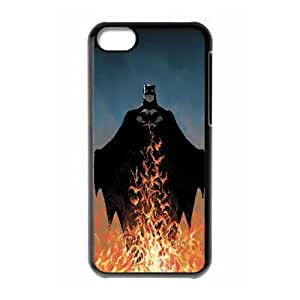 Batman Comic iPhone 5c Cell Phone Case Black 218y-744686