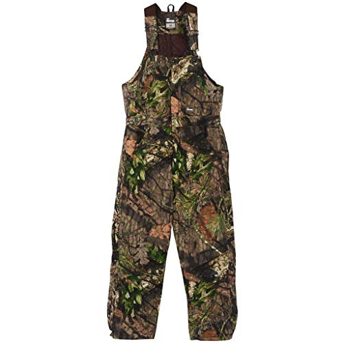 Berne Men's Original Camouflage Insulated Bib, Mossy Oak Country, ()