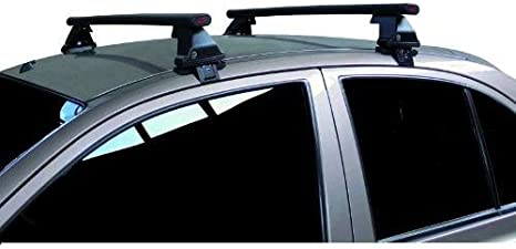 68.010 COMPATIBILE CON Audi A3 Sportback 5p 2006 BARRE PORTATUTTO PER TETTO AUTO 130CM BARRA PER AUTO CON ATTACCO DIRETTO SUL TETTO SENZA CORRIMANO PORTA BAGAGLI ACCIAIO