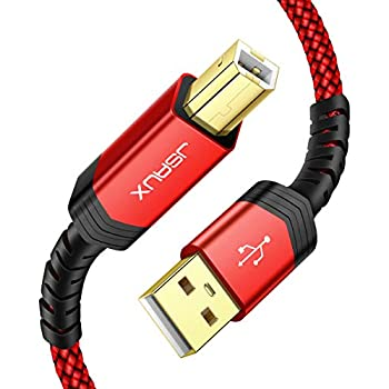Amazon.com: Printer Cable 20 ft, NC XQIN USB 2.0 Printer ...