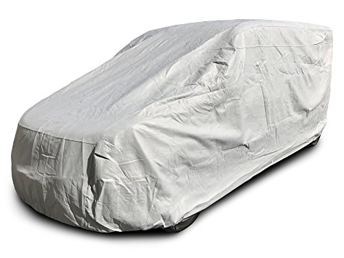 CarsCover Heavy Duty All Weatherproof Work Van Fit up to 190 inch Car Cover for Chevy City Express/Ford Transit Connect/Dodge Promaster City/Nissan NV200 -