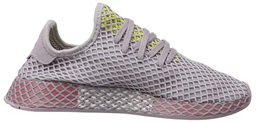 Deerupt W Para shock Running Zapatillas Runner Maroon soft De trace Yellow Yellow Soft Mujer Vision Adidas Rosa dwETqYq