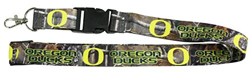 aminco Oregon Ducks CAMO Realtree 2-Sided Premium Breakwy Lanyard University of