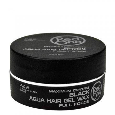 RedOne AQUA HAIR GEL WAX Full Force Black -5 ounces /150 ml