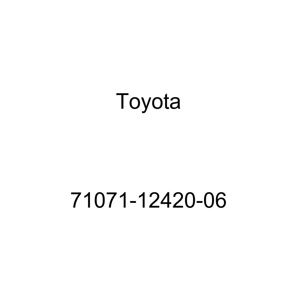 TOYOTA Genuine 71071-12420-06 Seat Cushion Cover