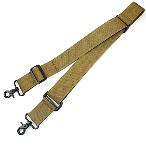 Braudel Rifle Sling,Tactical Shoulder Strap With Premium Steel Buckle,Quick Adjustable Traditional Slings Cord,Fit Outdoor Sports and Hunting