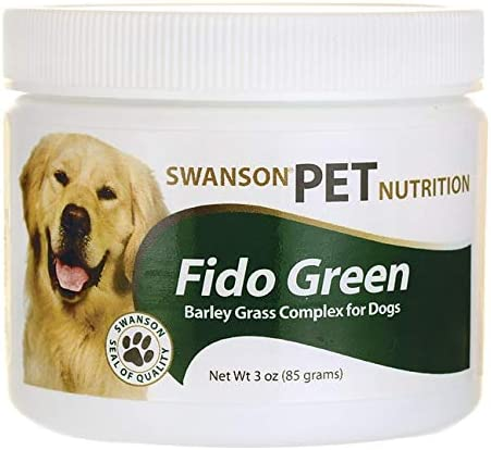 Swanson Fido Green Barley Grass Complex for Dogs 3 Ounce (85 g) Pwdr