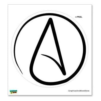 Amazon Atheism Symbol Window Bumper Locker Sticker Automotive