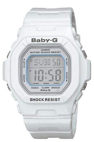 Casio Women's BG5600WH-7 Baby-G White Shock Resistant Digital Sport Watch