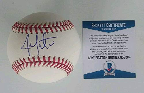 Chicago Cubs- Jon Lester Autographed Signed Official Major League Baseball Beckett G59264 - Authentic Memorabilia