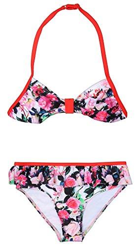 Betsey Johnson Girls Girls\' 2Pc Swimsuit, 5'