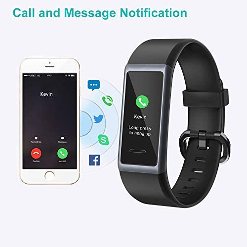 Willful Fitness Tracker 2020 New Version IP68 Waterproof, Fitness Watch Heart Rate Monitor with Calories/Step Counter Sleep Tracker Stopwatch Health Tracker Fit Watch for Men Women Kids 6