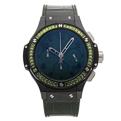 Hublot Big Bang Mechanical (Automatic) Green Dial Womens Watch 341.CV.5290.LR.1917 (Certified Pre-Owned)