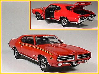 amazon com danbury mint 1969 pontiac gto judge toys games