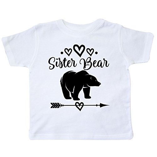 inktastic - Sister Bear Native Arrow Toddler T-Shirt 2T White 2de0f