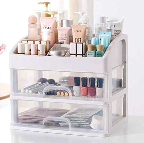 Wuyue Hua - Caja de almacenamiento para maquillaje (tamaño pequeño ...